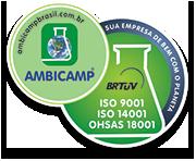 Selo de divulgação das nossas certificações do SGI.